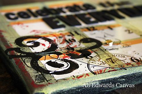 Ali edwards canvas 2