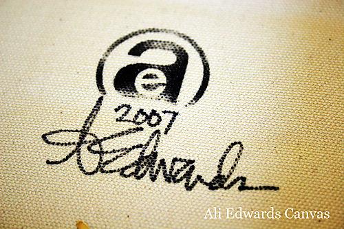 Ali edwards canvas 4